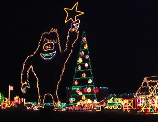 Christmas lights continue to glow after 25 years
