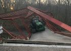 Historic Boone Co. bridge collapsed by tractor