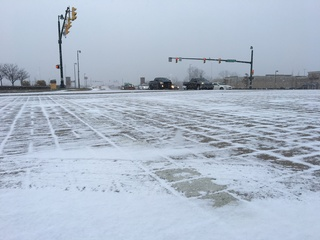 PICS: First snow of the year in central Indiana
