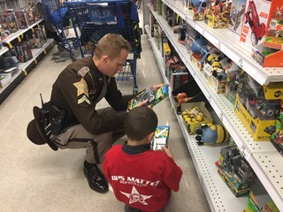 PHOTOS: Marion County Shop with a Cop 2017