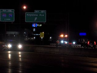 Man wanted for child molestation struck on I-65