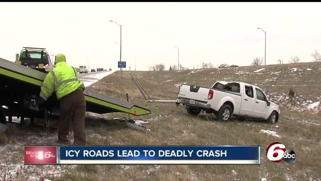 Weather played a role in deadly crash on I-70
