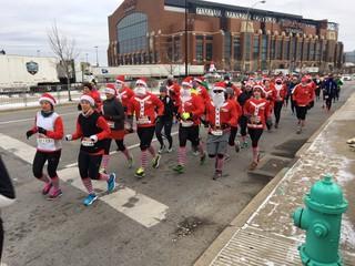 PHOTOS: Ho, ho, ho it's the Santa Hustle