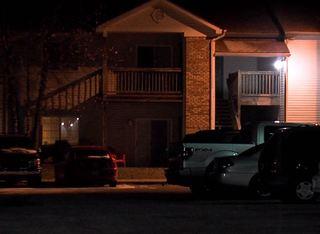 Woman held at gunpoint, locked in bathroom