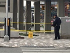 Suspicious package reported at transit center