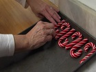 Making candy canes at Martinsville Candy Kitchen