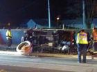 Kokomo man faces DUI over crash into flower pot