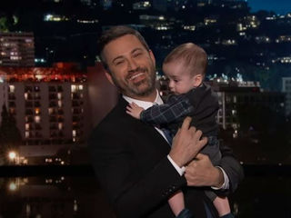 Kimmel returns to TV, pleads for health care