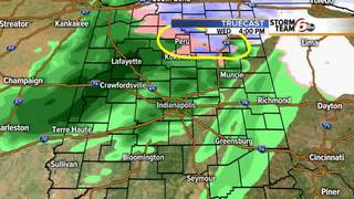 ALERT: Rain/Snow mix possible for some