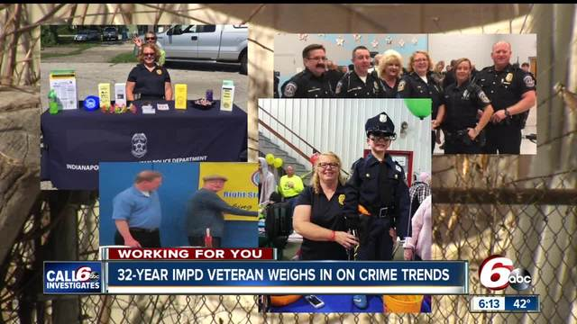 Beloved IMPD Sgt- Lori Himmel retiring after 32 years on the west side