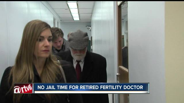 No jail time for retired fertility doctor accused of using his own sperm
