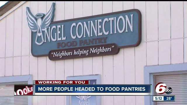 Hancock County food pantries seeing increase in people asking for help