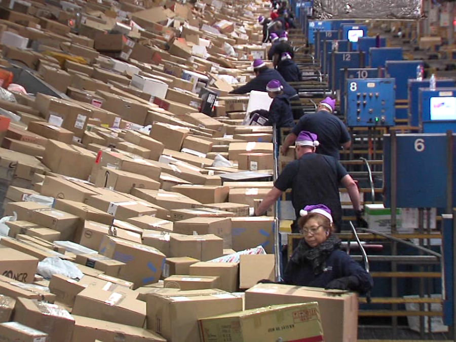 Hamilton Gas Prices >> CALL 6: Take a look inside Indy's FedEx hub, the second ...