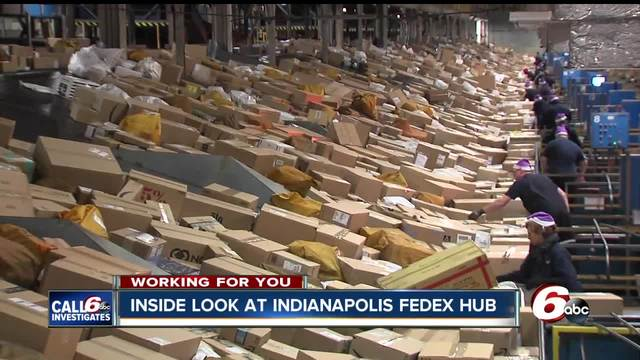Indianapolis has the second-largest FedEx hub in the U-S- Take a look inside-