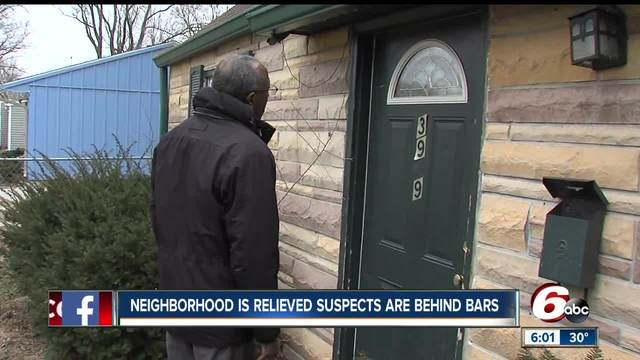 Neighborhood relieved suspects in Dr- Kevin Rodgers- murder are behind bars