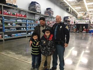 Shop with a Cop event honors fallen Lt. Allan