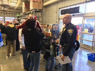 Shop with a cop event in memory of Lt. Allan
