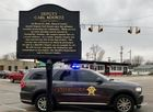 Deputy Koontz memorial unveiled in Russiaville