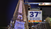 Showers arrive Sunday, mild weather continues