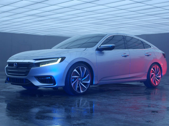 Honda Insight Prototype Courtesy North America