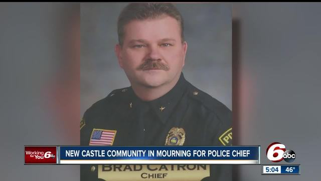 Community mourns loss of New Castle police chief