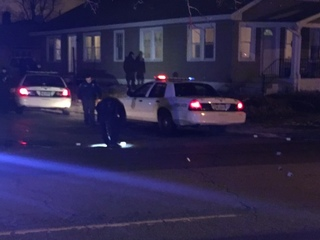 Shots fired at house while children were inside