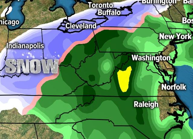 Winter weather advisory issued for Thursday; sleet, freezing rain, snow possible