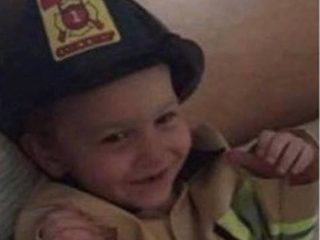 Local fire department honors boy killed in fire