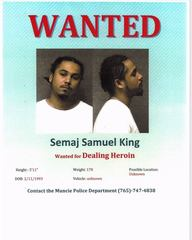 WANTED: 5 men wanted for drug dealing in Muncie