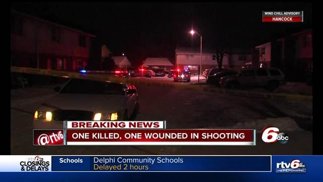 Two people shot- one killed on Indy-s northeast side