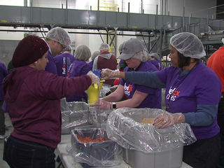 Local companies feeding thousands of kids a day