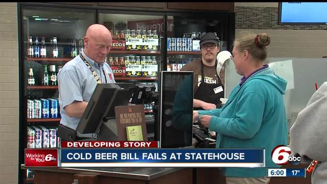 House committee approves Sunday alcohol sales bill in 12-1 vote