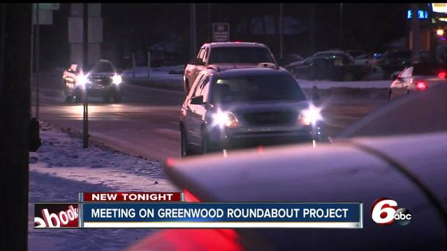 Plan to replace busy intersection in Greenwood with roundabout
