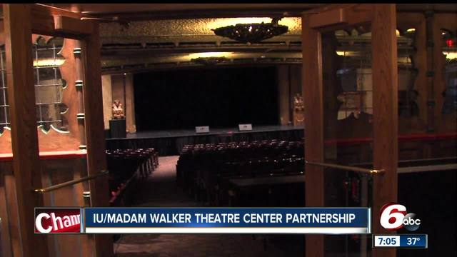 Indiana University is partnering with the Madam Walker Theatre Center to…