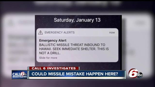 Could a missile mistake- like the one that happened in Hawaii- happen in…