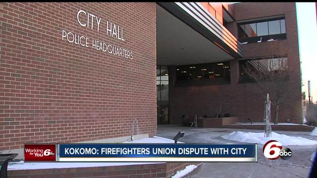 Firefighters in Kokomo are working without a labor contract for the…