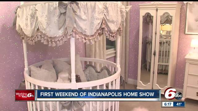 First weekend of Indianapolis Home Show underway