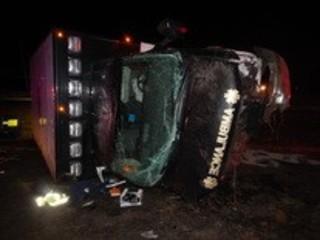 ISP: EMT dies when ambulance driver falls asleep