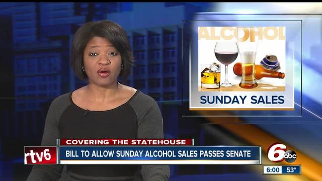 Sunday alcohol sales bill reaches new milestone- Senate approval brings…