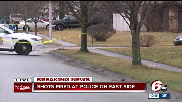 3 people arrested after shots fired at IMPD on Indy-s east side