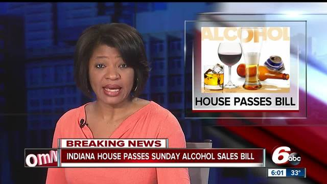 House passes its version of Sunday alcohol sales bill- but there are…