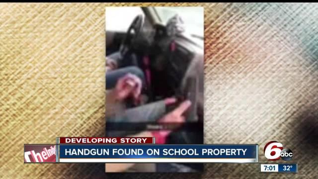 Handgun found on Greenfield-Central High School property