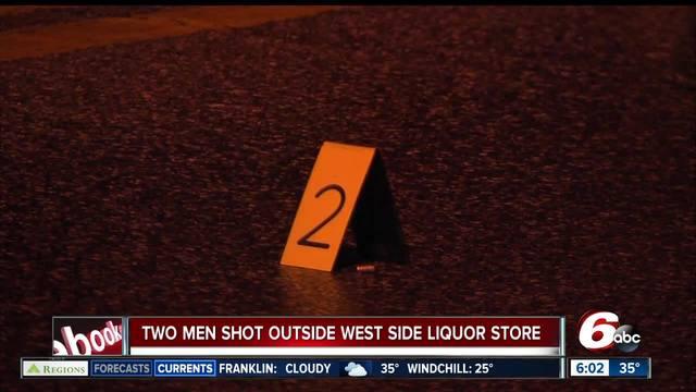 2 people shot near west side liquor store