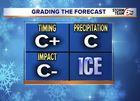 GRADES: How'd we do on Wednesday's forecast?