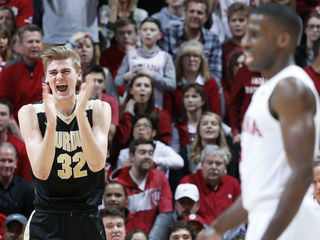 No. 3 Purdue holds off Indiana