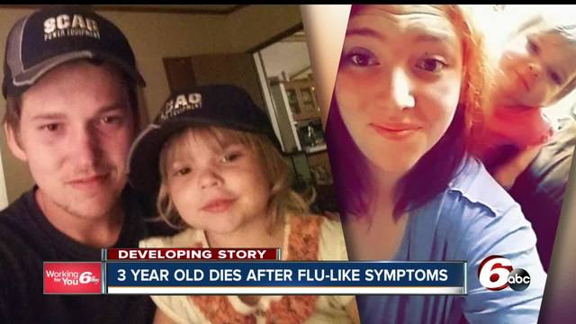 3-year-old child dies from flu complications
