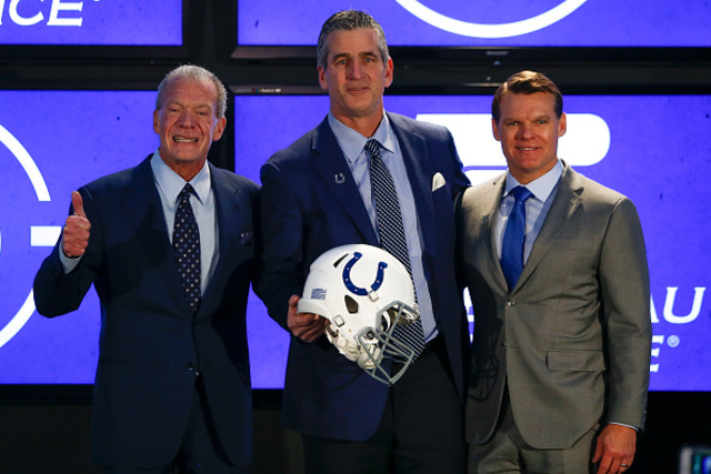Reich embraces new role with Colts as coaching backup planA