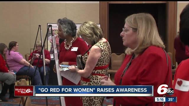 Go Red for Women Luncheon raises awareness of risk factors of heart disease