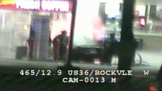 Car catches fire next to Speedway gas pump