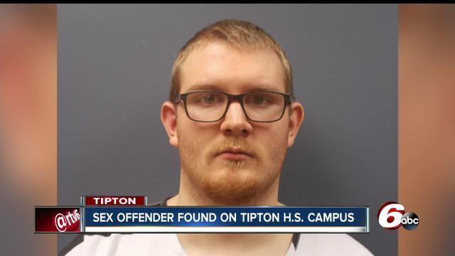 Registered sex offender arrested at Tipton High School
